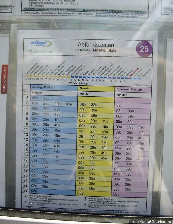 Пожалуй размещу фото расписания 25 автобуса. Может кому пригодится.