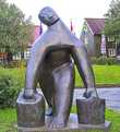 Скльптура Водоноска