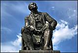 Памятник М. В. Ломоносову, скульптор Козловский, 1958 г