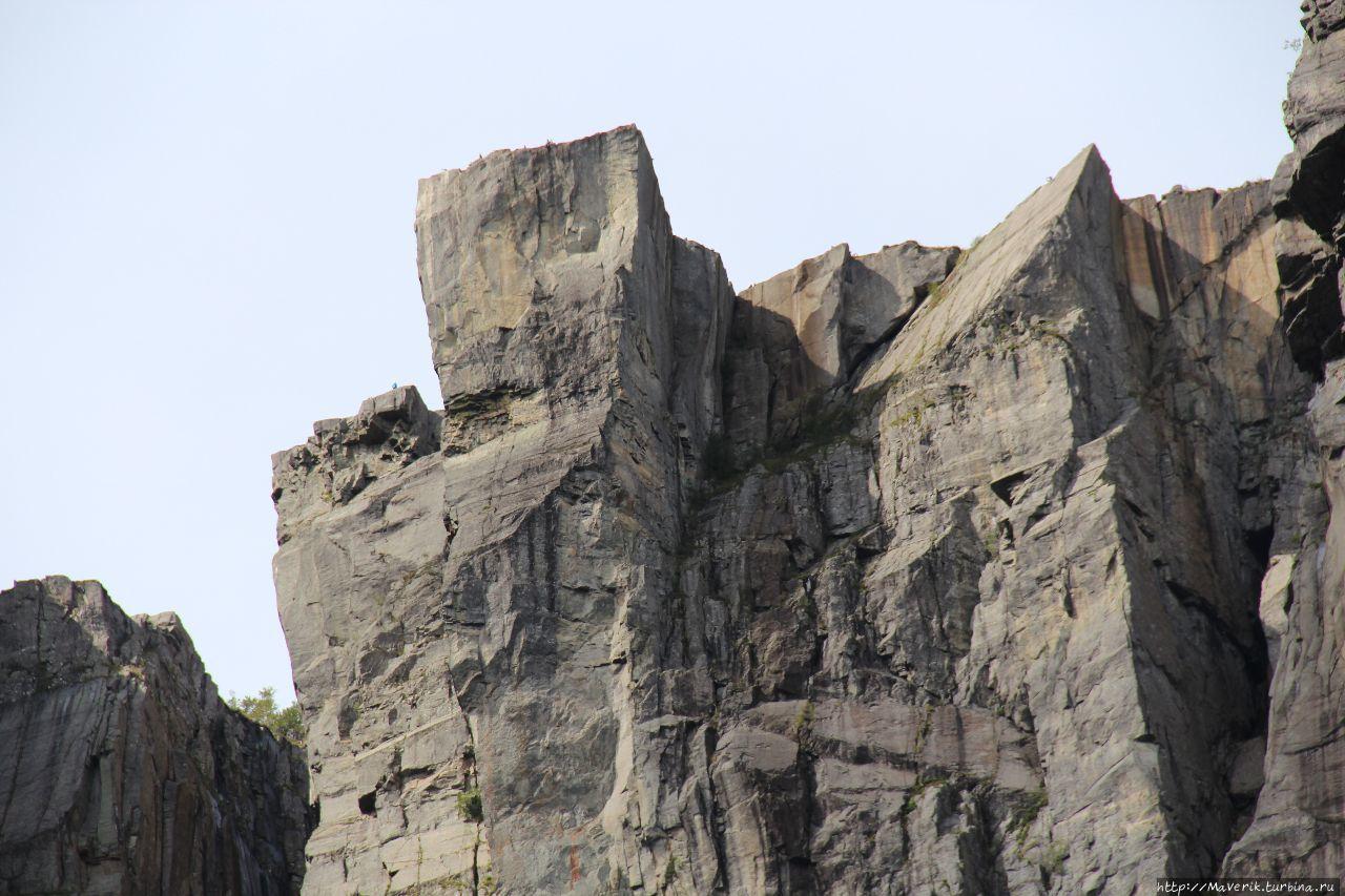 Кафедра Проповедника — уникальное творение природы Прекестулен (Кафедра проповедника), Норвегия