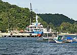 * Морской порт Хагны. Отсюда паромы отправляются на остров Минданао