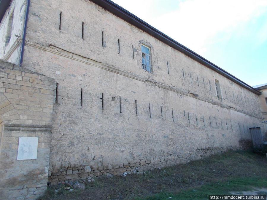 Внешняя стена Хунзах, Россия