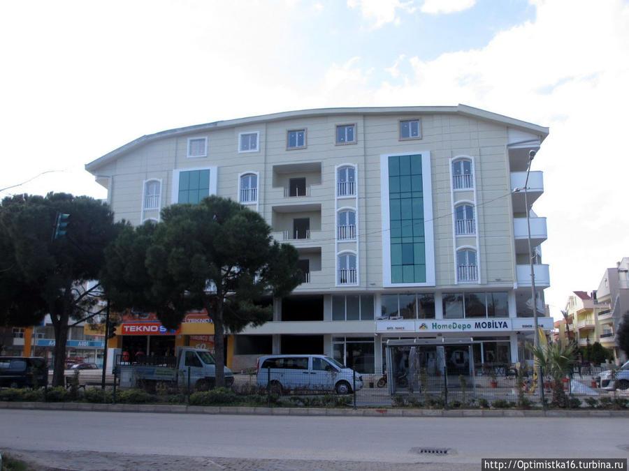 Новый дом построили. Дидим, Турция