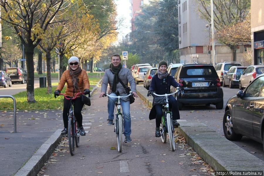 По велодорожке с ветерком!