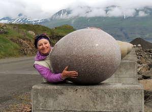 Каменные яйца в Восточных фьордах Исландии