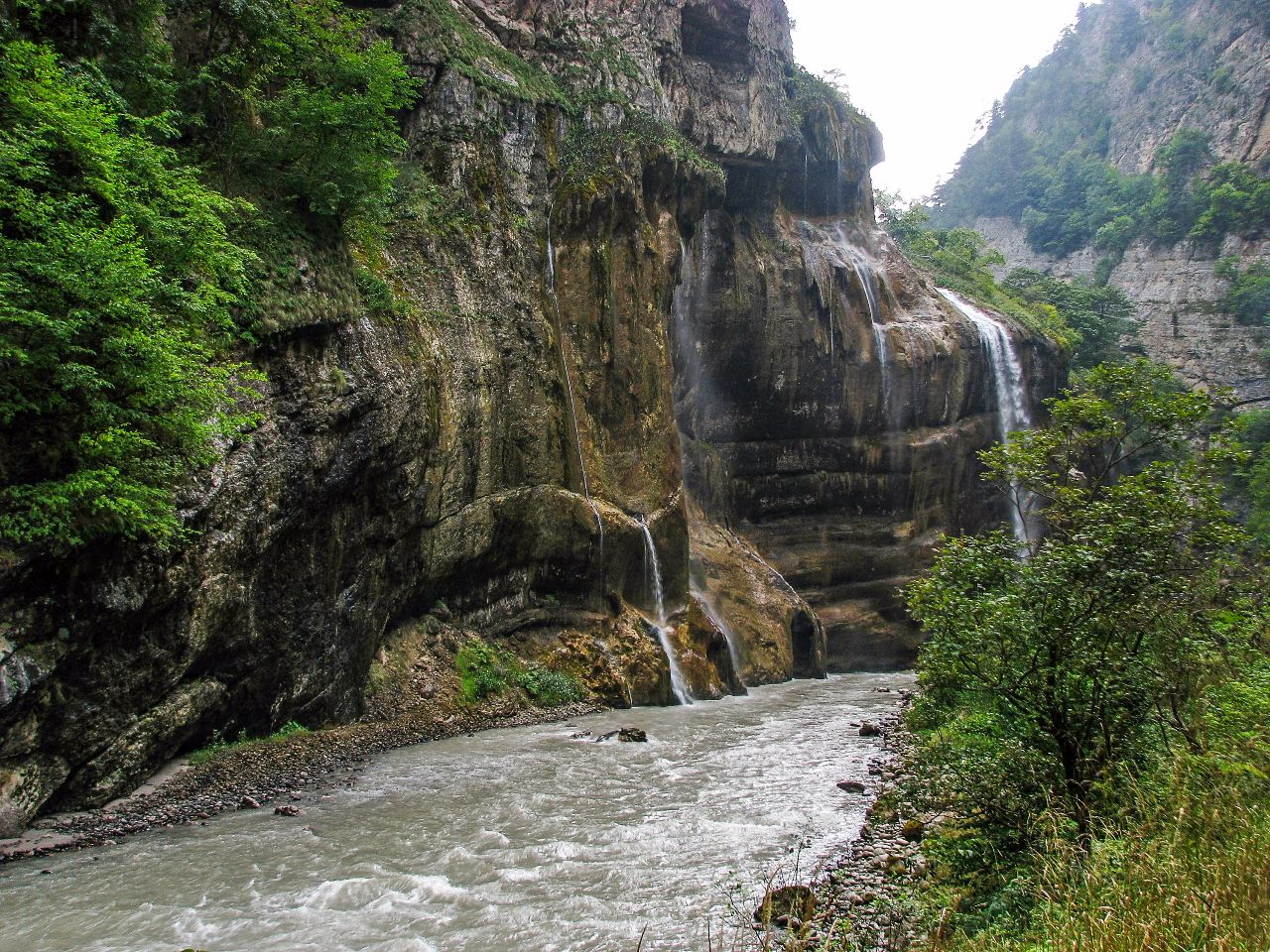 Чегемские водопады Чегем Первый, Россия