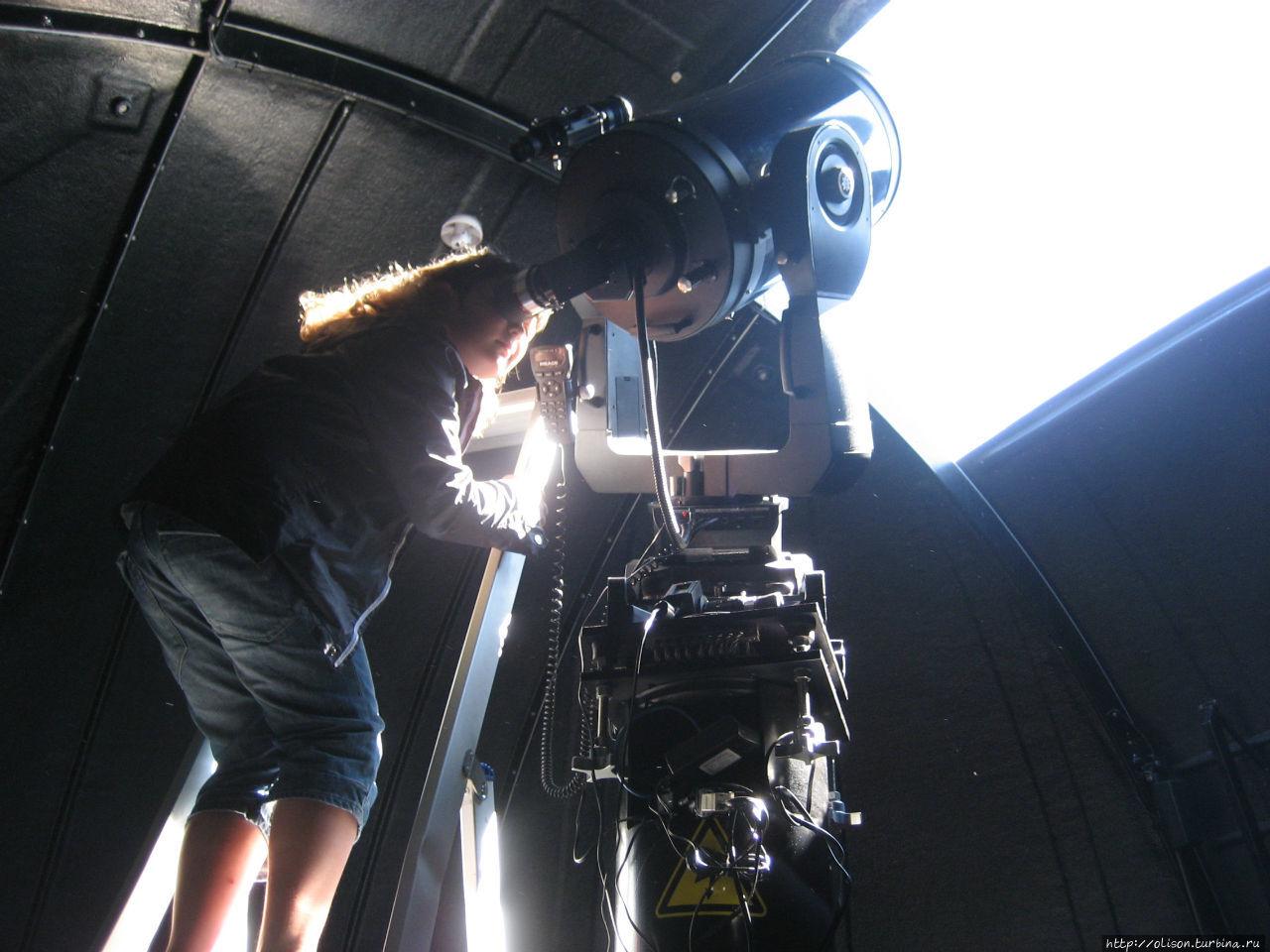 Солнечный телескоп