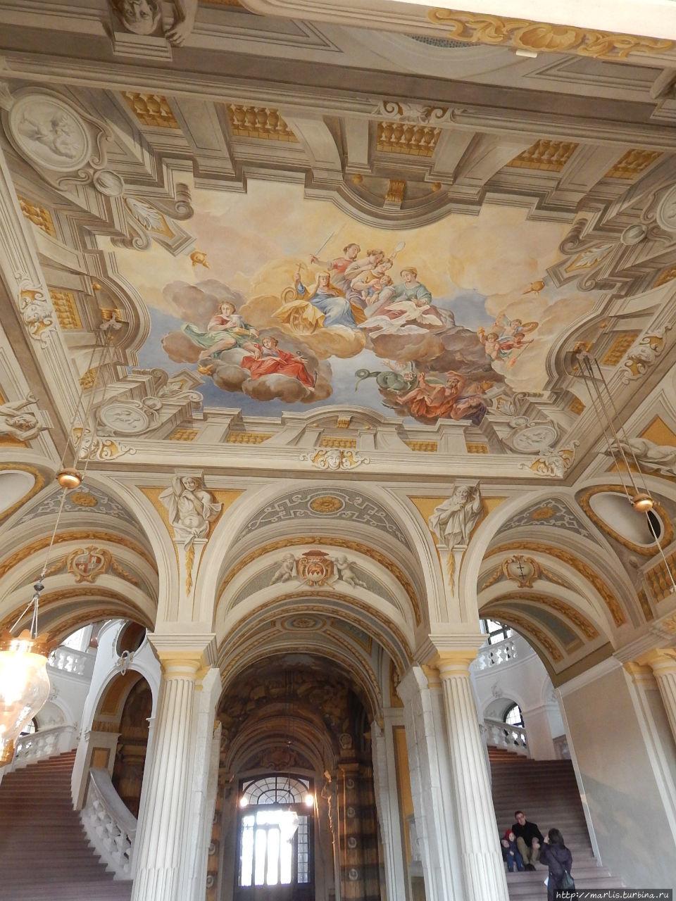 Брухзальский дворцовый ансамбль Брухзаль, Германия