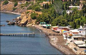 также открываются красивые  виды пляжей. *