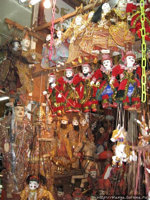Мьянмарские куколки