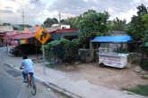 Непарадная Мексика из окна автобуса