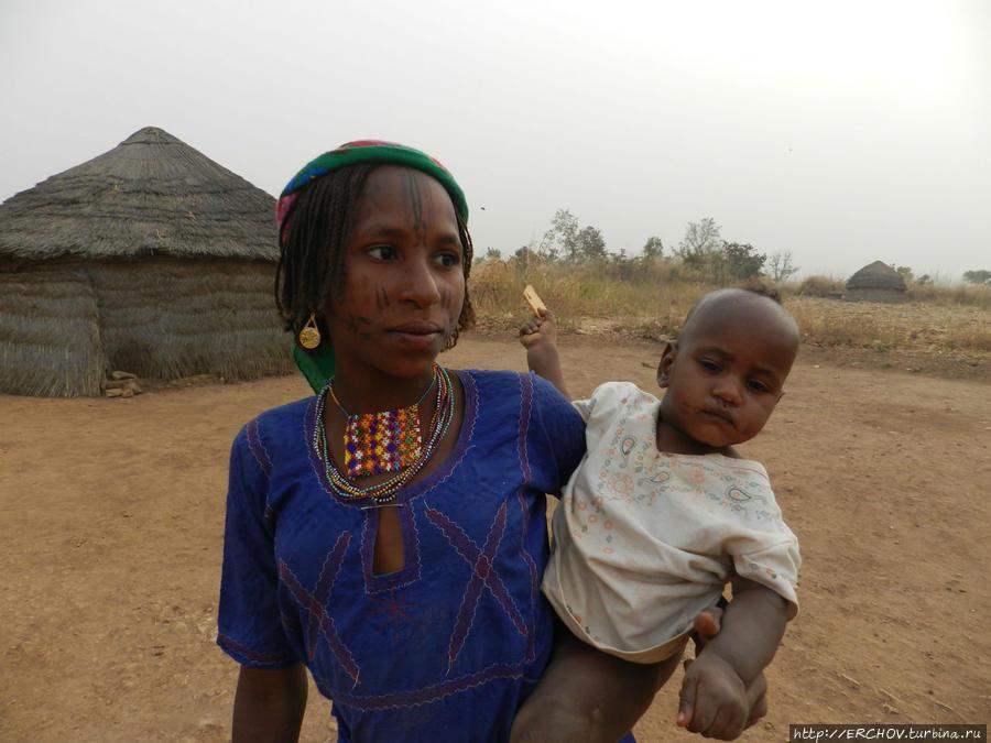 Камерун. Ч  —  5.  Люди народности мбороро Поли, Камерун