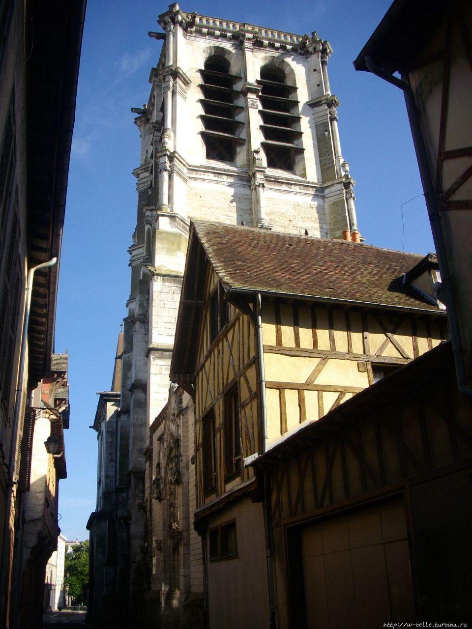 Колокольня церкви Сент-Ма