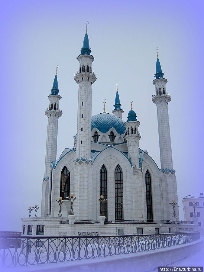 Мечеть Кул Шариф — сказочно прекрасна!
