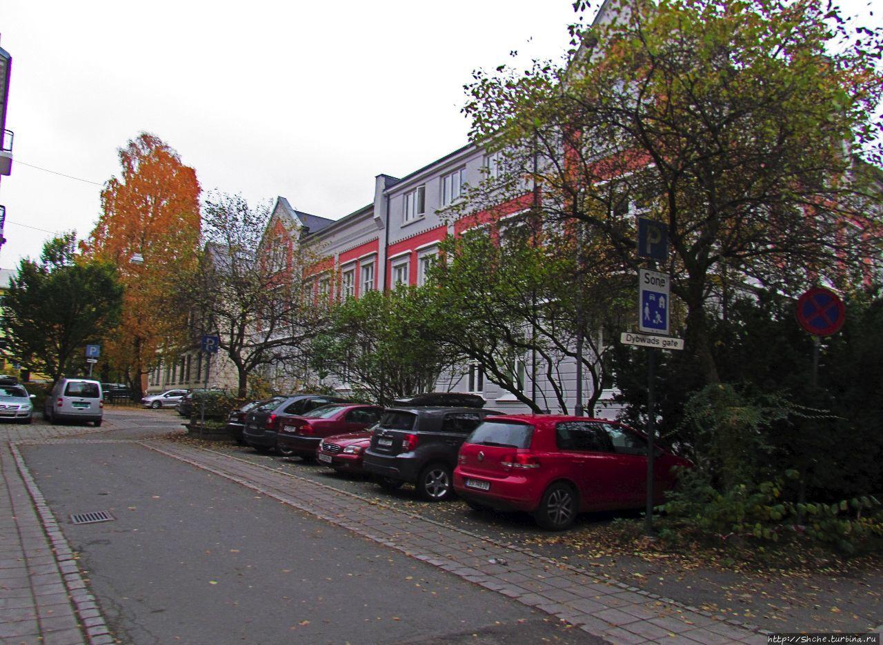 район Майорштюн Осло, Норвегия
