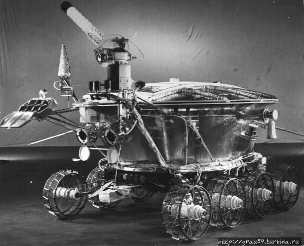 «Луноход-1» с закрытой со