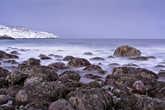 один из каменных пляжей Териберской губы