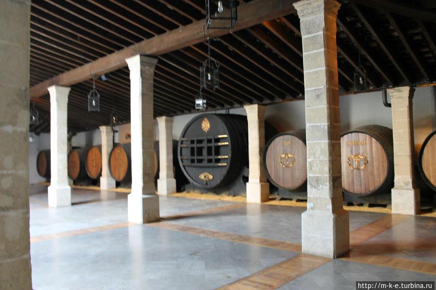 Подвалы винодельни