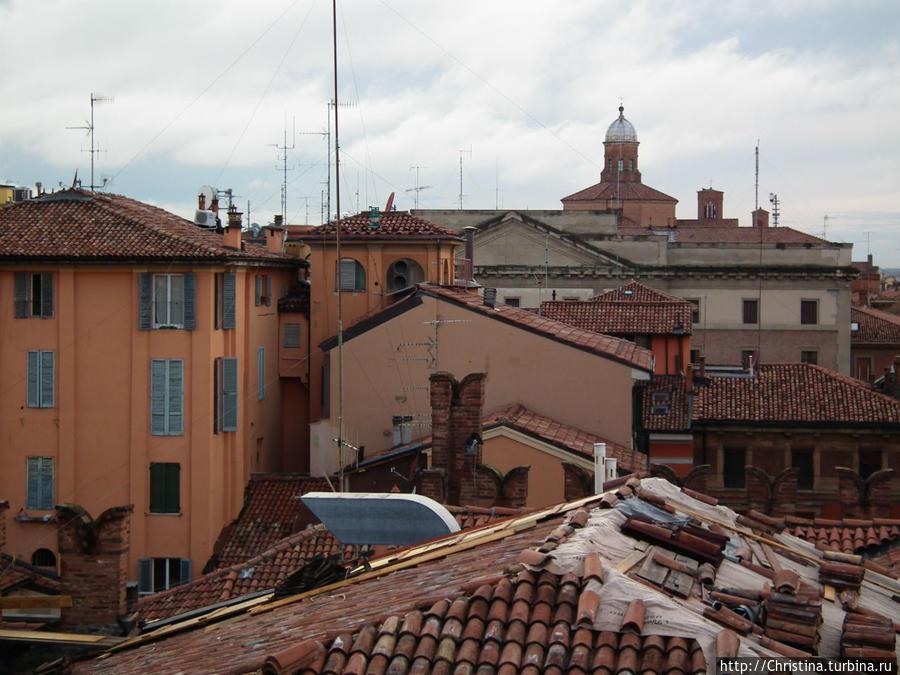 Крыши Болоньи.