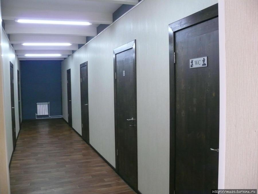 Гостиница Юрта — коридор
