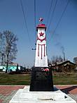 Монумент героям мартовского (1919 г.) восстания в Кольчугино. Так до 1924 г. назывался поселок, ставший впоследствии городом Ленинском.