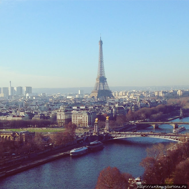 Зимний Париж. Часть 1