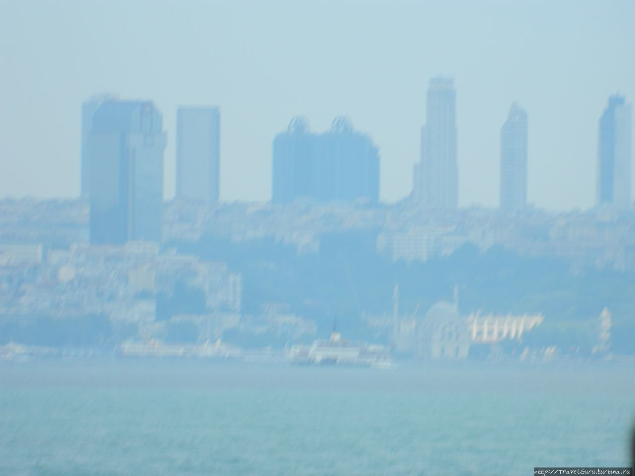 Удаляющийся Стамбул