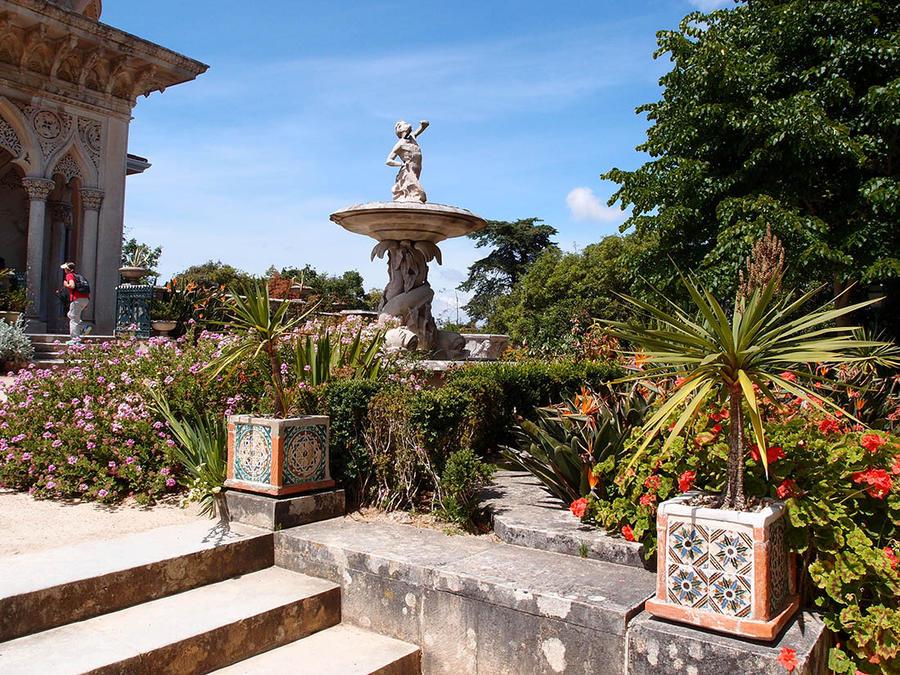 В волшебном царстве Монсеррат Синтра, Португалия