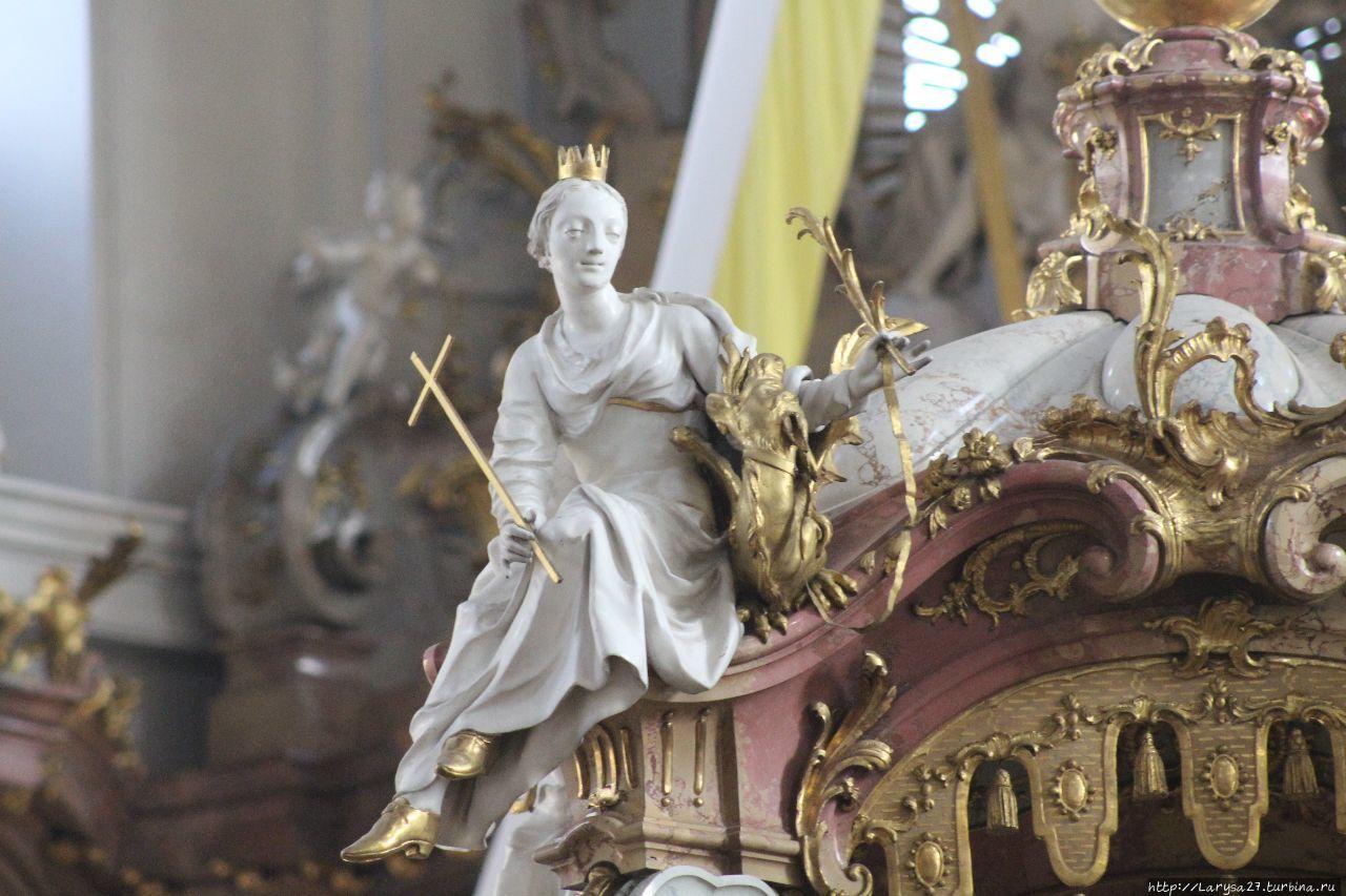 Рококо-алтарь, Св. Маргар