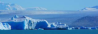 таким величественным ледяным полем предстаёт перед вами ледник Upsala
