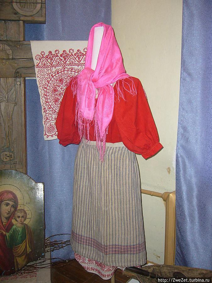 женский костюм вепсов