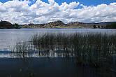 На берегах озера Банкс — резервуара, получившегося после создания дамбы. Раньше здесь было сухое куле.