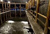 Подземное озеро — оно образовалось за счет воды, стекающей с потолка