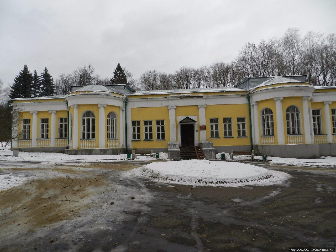 Горки Ленинские. Ч — 2. Кабинет  и музей-квартира В.И.Ленина