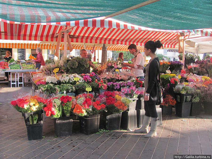 Цветочный рыно