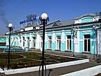 Железнодорожные ворота города — станция Ленинск-Кузнецкий 1.