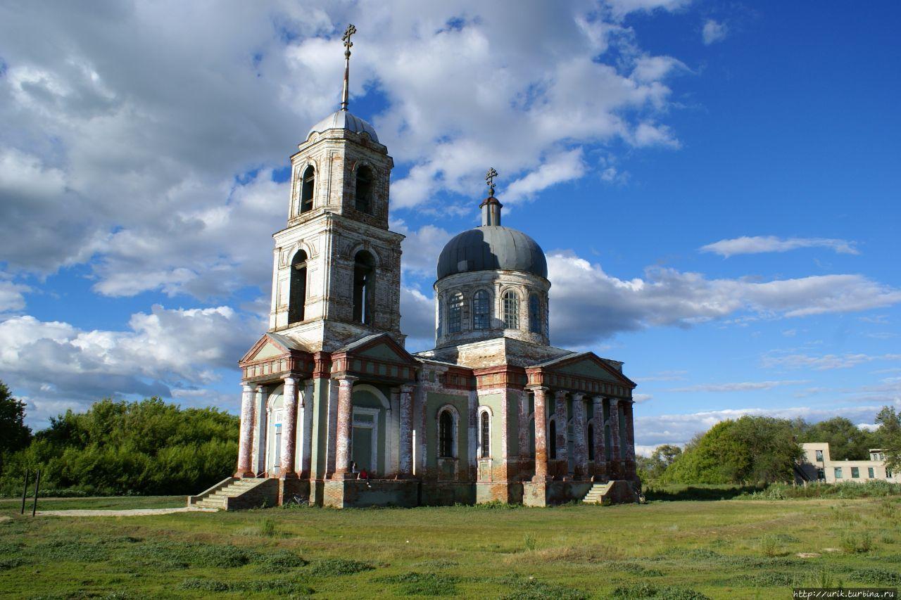 Изучая родной край: храм Михаила Архангела, с.Борисоглебовка