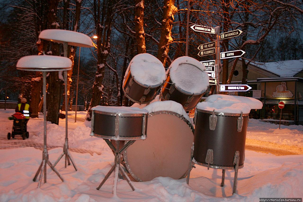 Самые большие барабаны в
