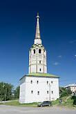 Соборная колокольня. В ней в 30-е годы ночевал  Варлам Шаламов с этапом в Красновишерск