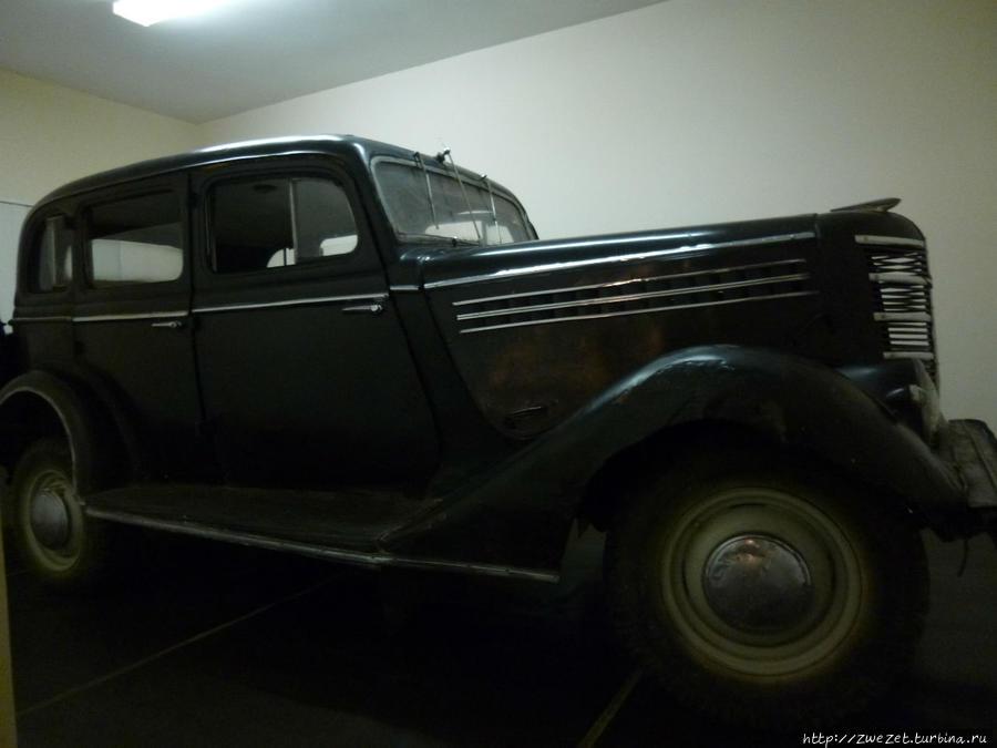 Личный автомобиль Г.Графтио