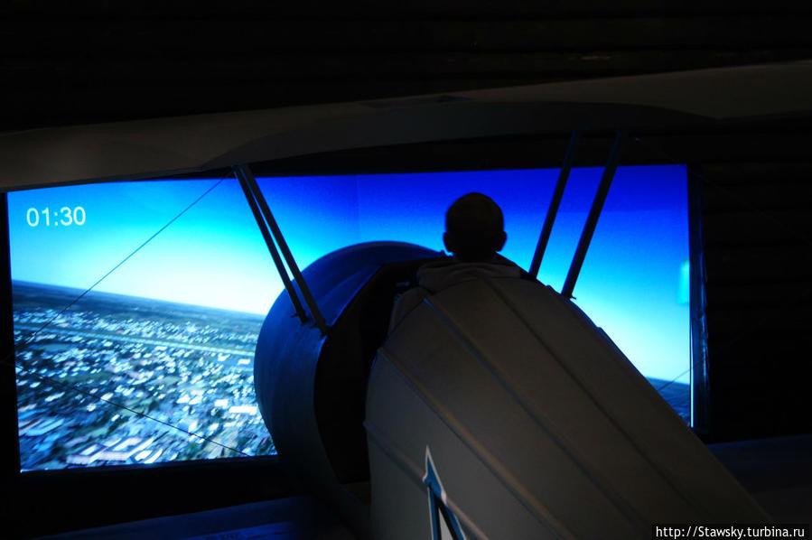 на самолете над Таллином