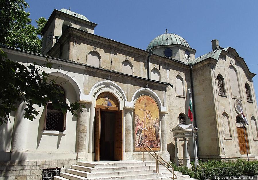 Единственный в Болгарии морской храм во имя Николая Чудотворца