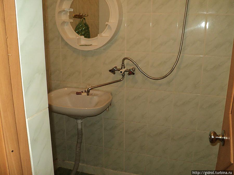 Туалет в номере