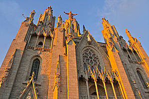 Гора Тибидабо и храм Святого Сердца в Барселоне  история