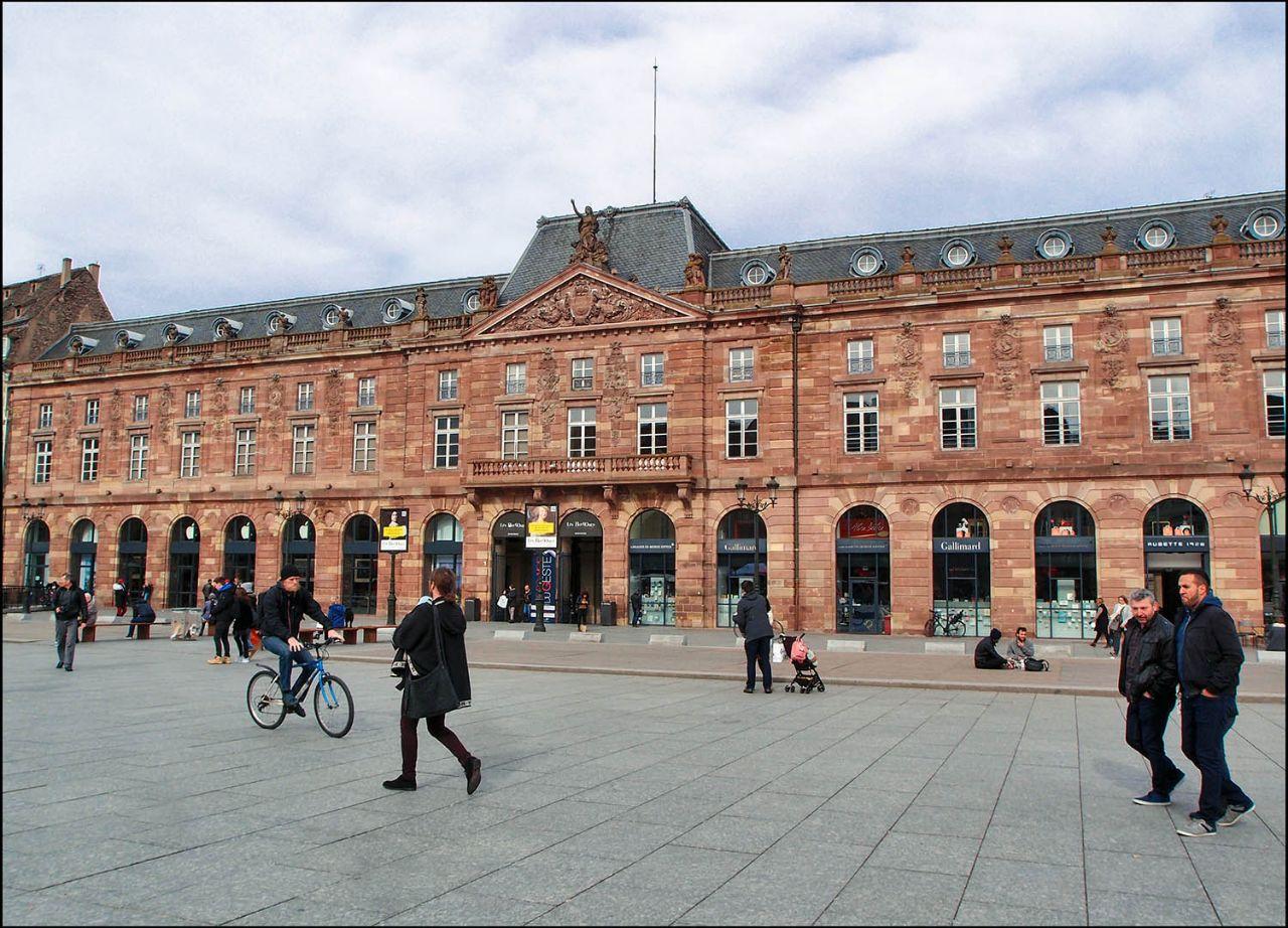 В центре Страсбурга Страсбург, Франция