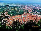 Виды на город с горы Тымпа