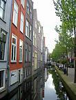 Дома вдоль Voldersgracht