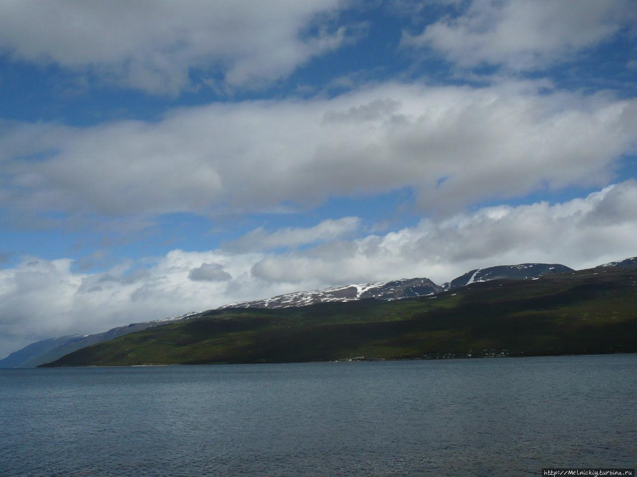 Небольшая прогулка по заливу Скиботн, Норвегия