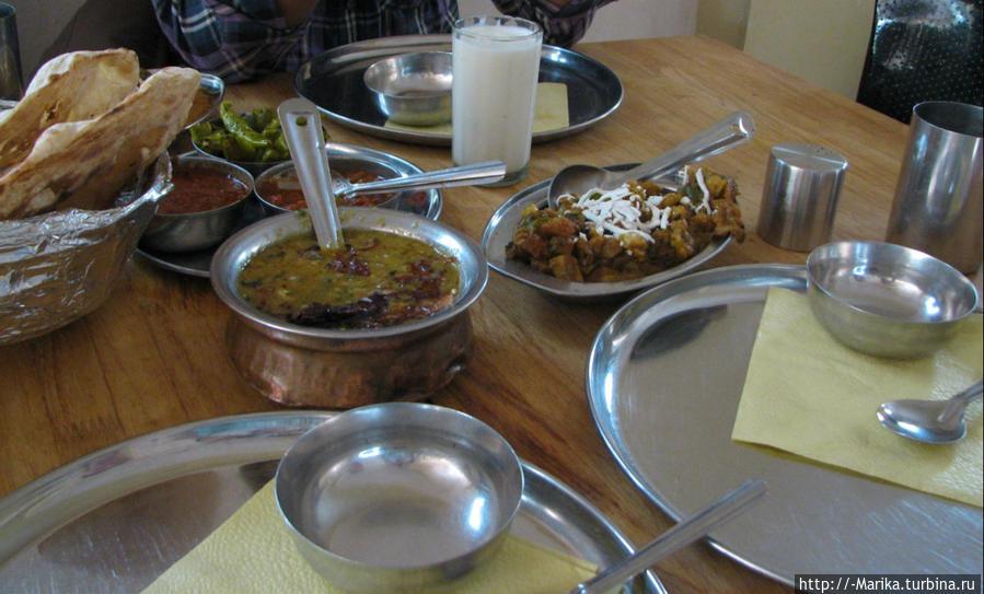 Знакомство с индийской кухней, Аджмер, Раджастан, Индия Пушкар, Индия