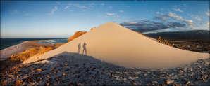 Песчаные дюны пляжа Калансия